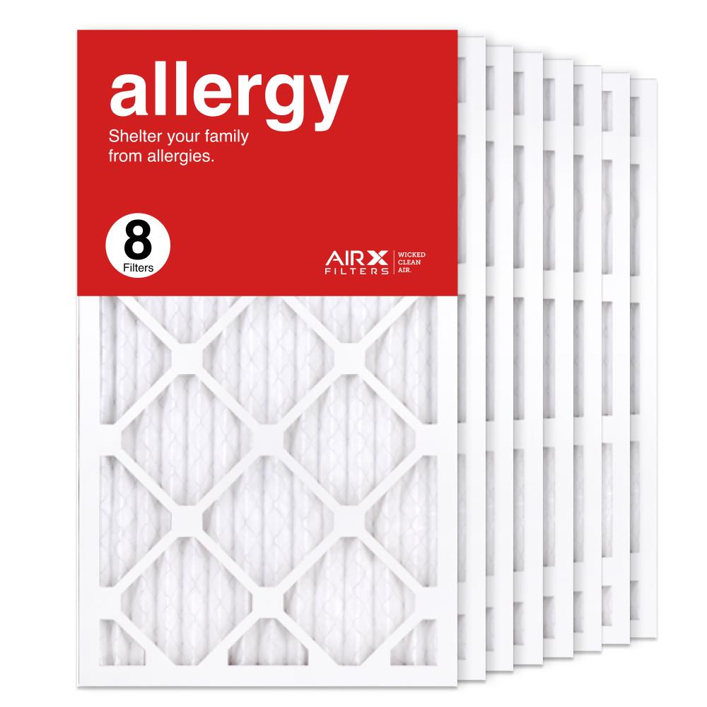 14x25x1 AIRx ALLERGY Air Filter, 8-Pack