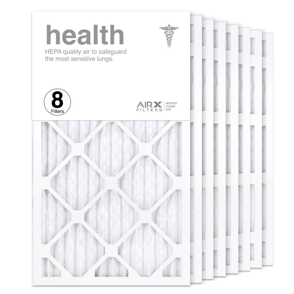 14x25x1 AIRx HEALTH Air Filter, 8-Pack