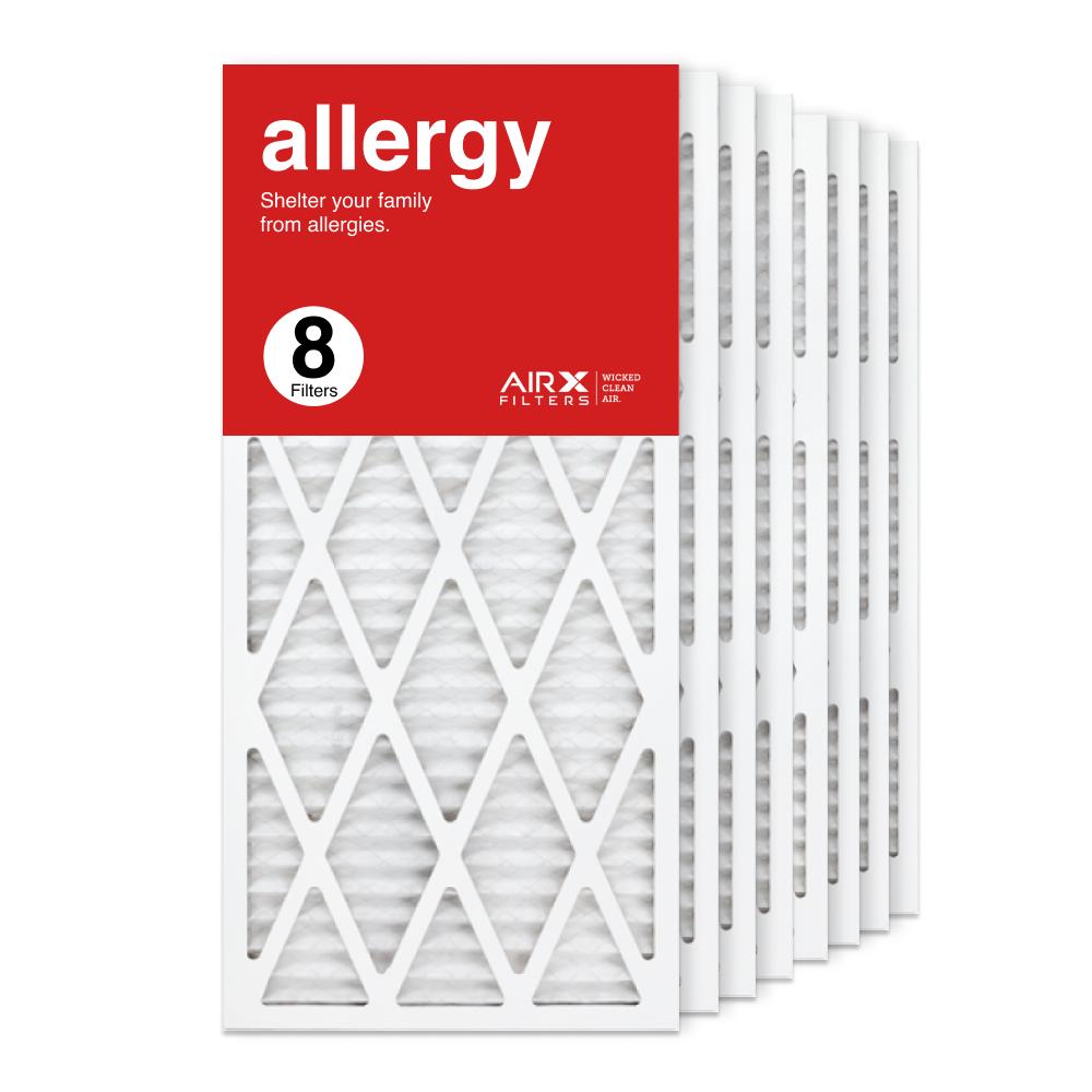 14x30x1 AIRx ALLERGY Air Filter, 8-Pack