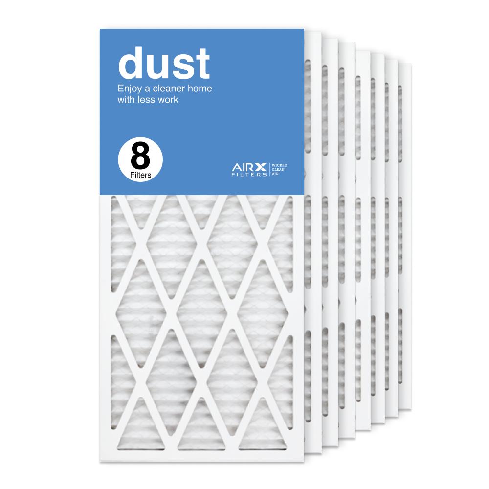 14x30x1 AIRx DUST Air Filter, 8-Pack