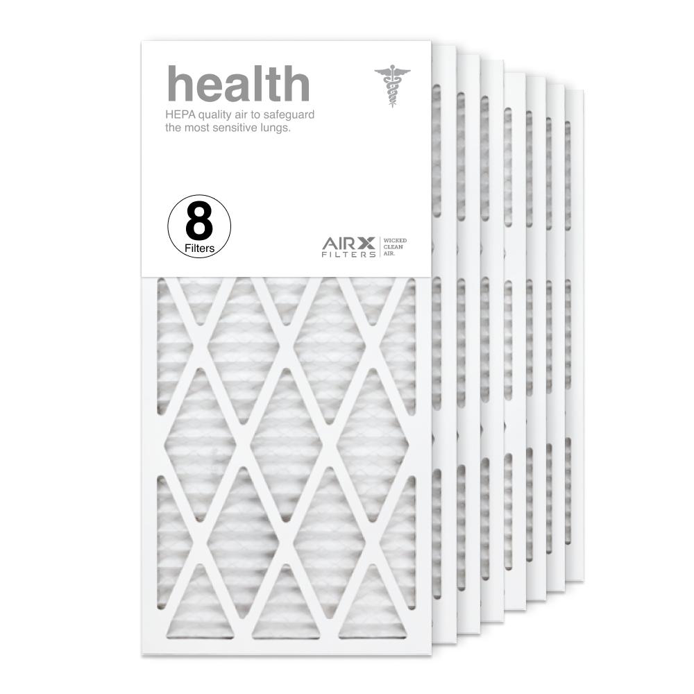 14x30x1 AIRx HEALTH Air Filter, 8-Pack