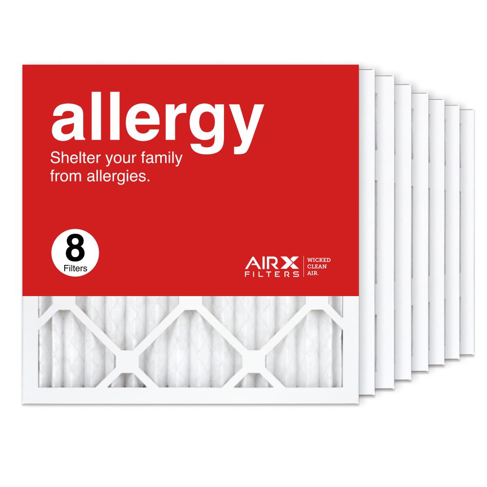 16x16x1 AIRx ALLERGY Air Filter, 8-Pack