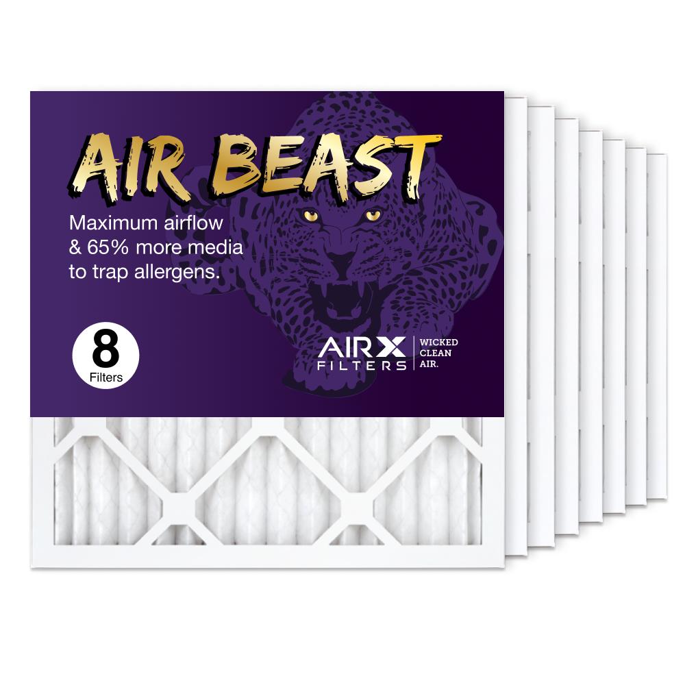 16x16x1 AIRx Air Beast High Flow Air Filter, 8-Pack