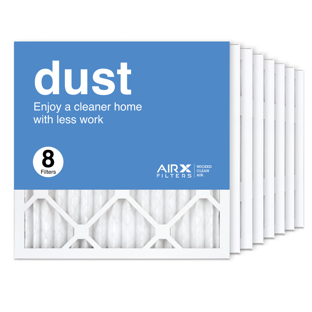 16x16x1 AIRx DUST Air Filter, 8-Pack