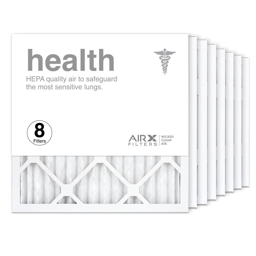 16x16x1 AIRx HEALTH Air Filter, 8-Pack