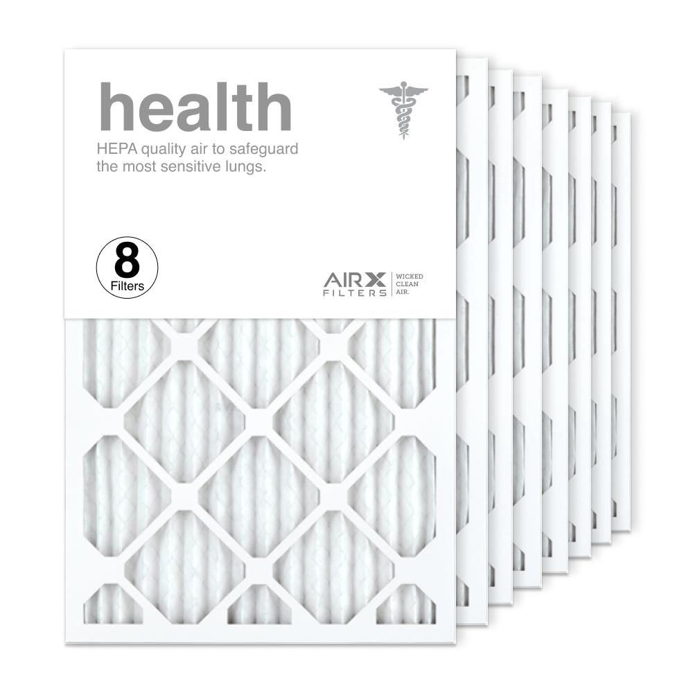 16x25x1 AIRx HEALTH Air Filter, 8-Pack