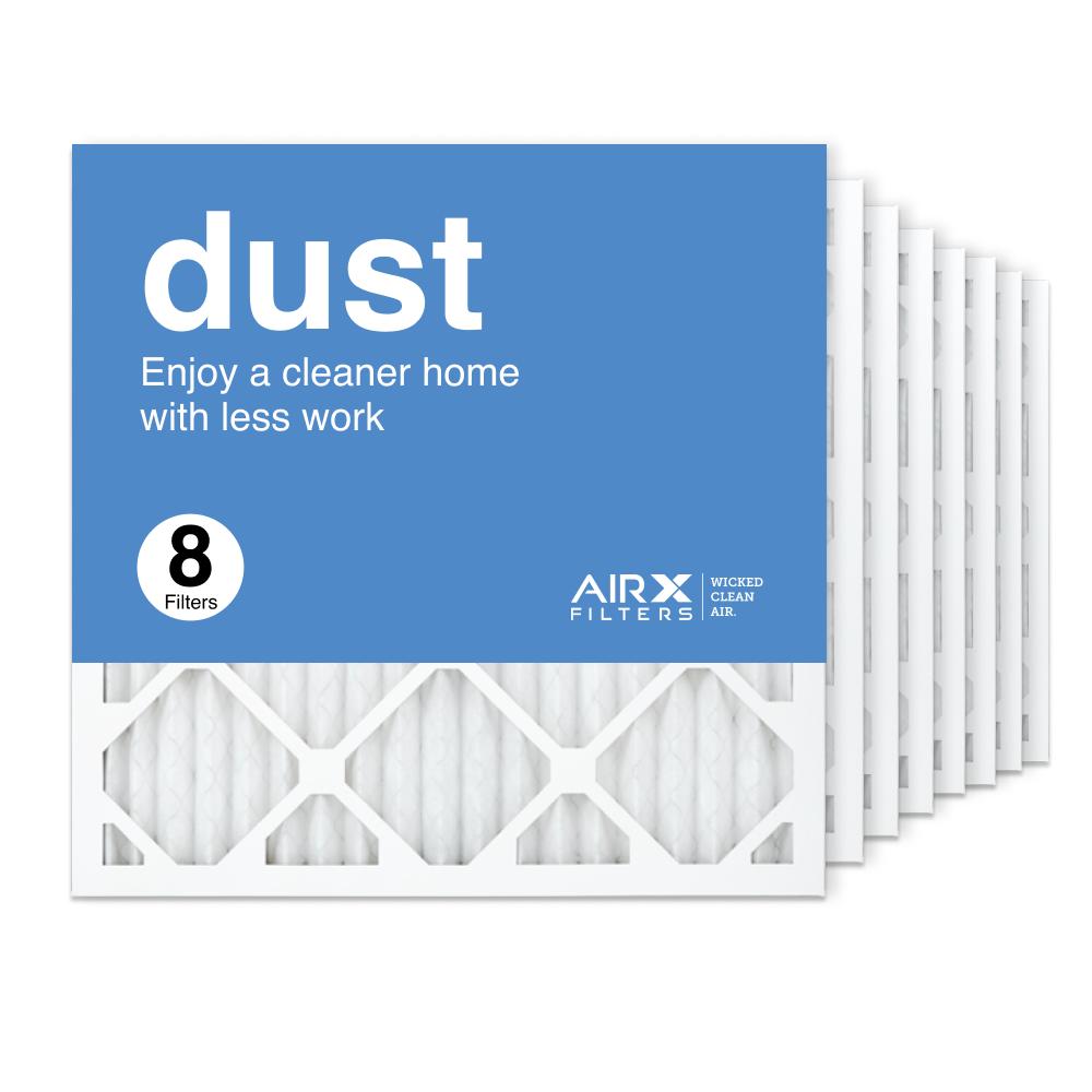 18x18x1 AIRx DUST Air Filter, 8-Pack