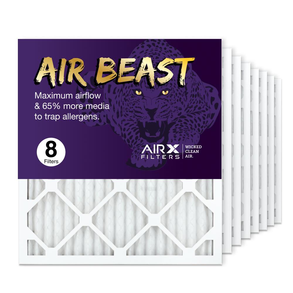 18x20x1 AIRx Air Beast High Flow Air Filter, 8-Pack