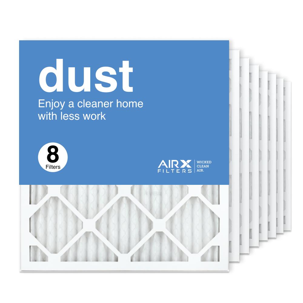 18x20x1 AIRx DUST Air Filter, 8-Pack
