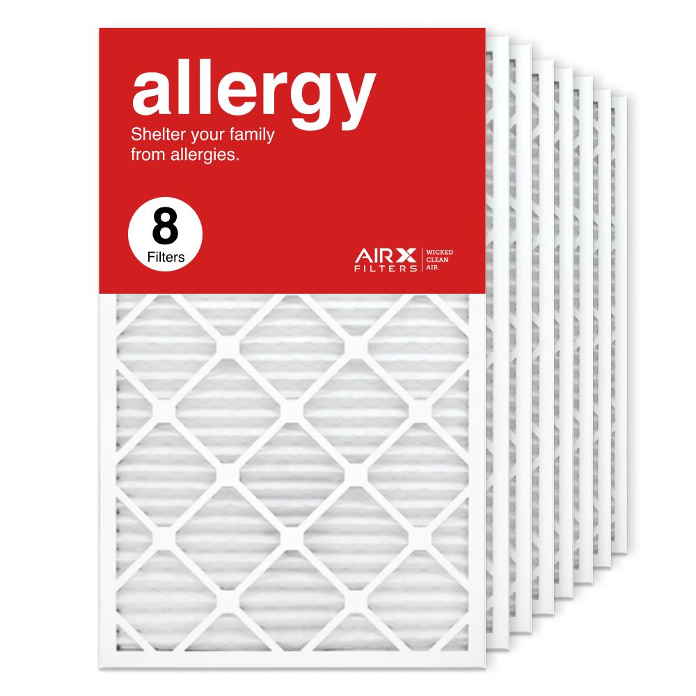 18x30x1 AIRx ALLERGY Air Filter, 8-Pack