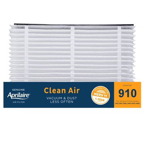 Aprilaire #910 MERV 11 Replacement Filter, 2-Pack