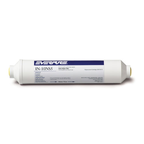"Everpure 10"" Inline Filter 5 Micron Sediment IN-10NS5"