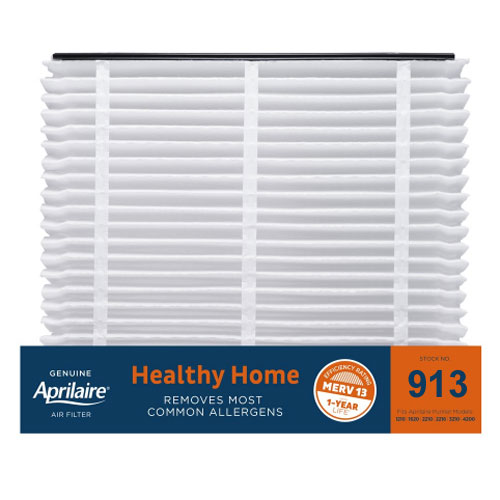 Aprilaire #913 MERV 13 Replacement Filter, 2-Pack