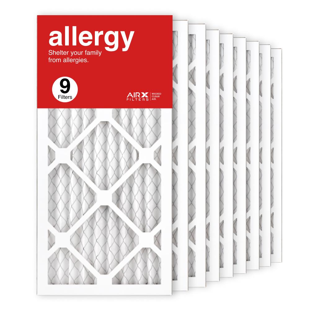10x20x1 AIRx ALLERGY Air Filter, 9-Pack