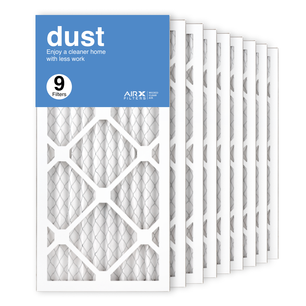 10x20x1 AIRx DUST Air Filter, 9-Pack