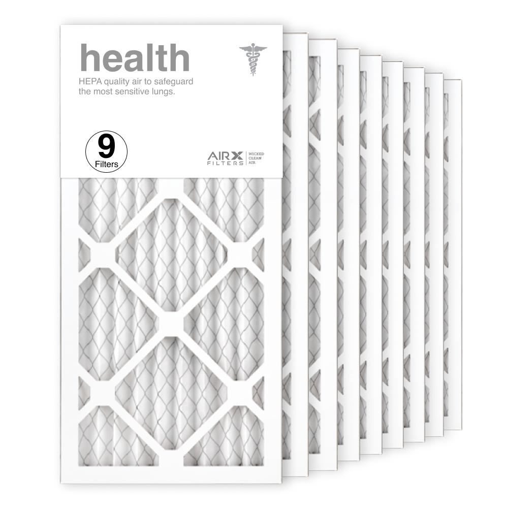 10x20x1 AIRx HEALTH Air Filter, 9-Pack
