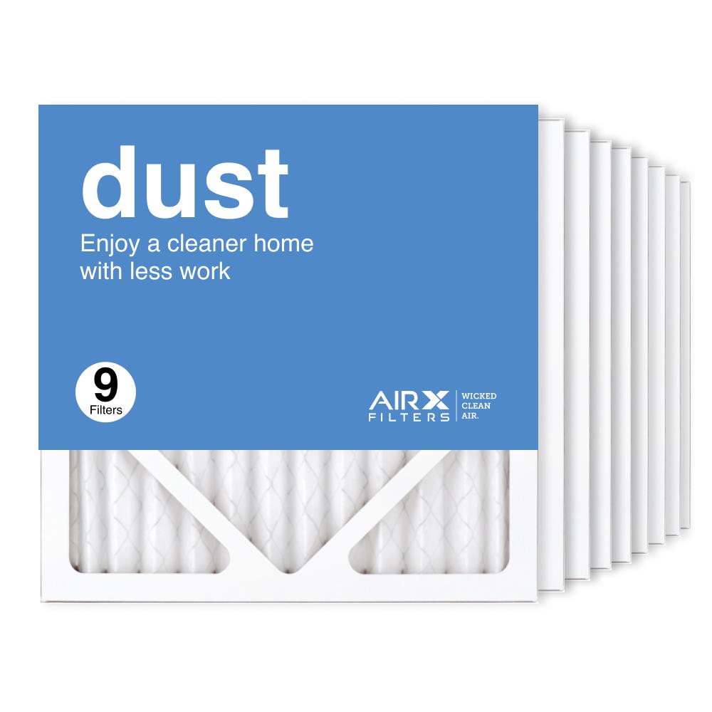 12x12x1 AIRx DUST Air Filter, 9-Pack