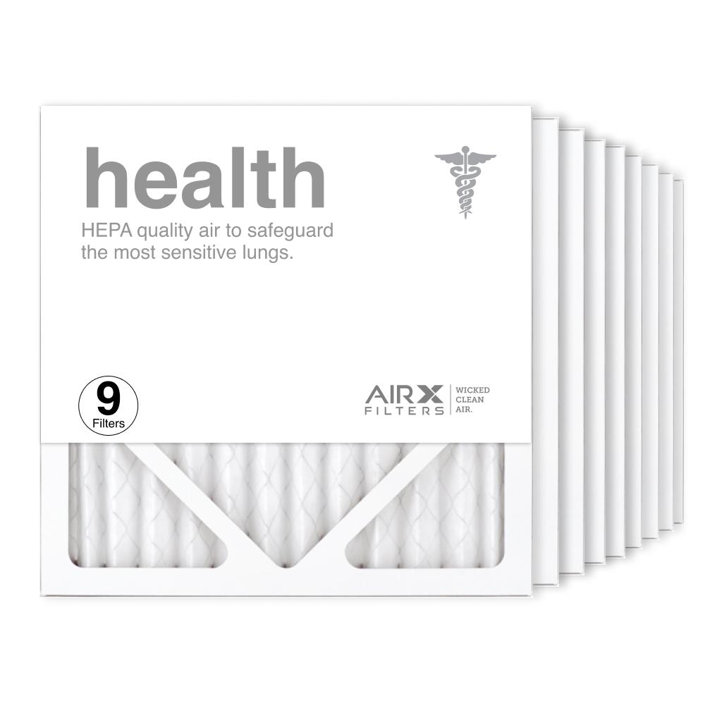 12x12x1 AIRx HEALTH Air Filter, 9-Pack
