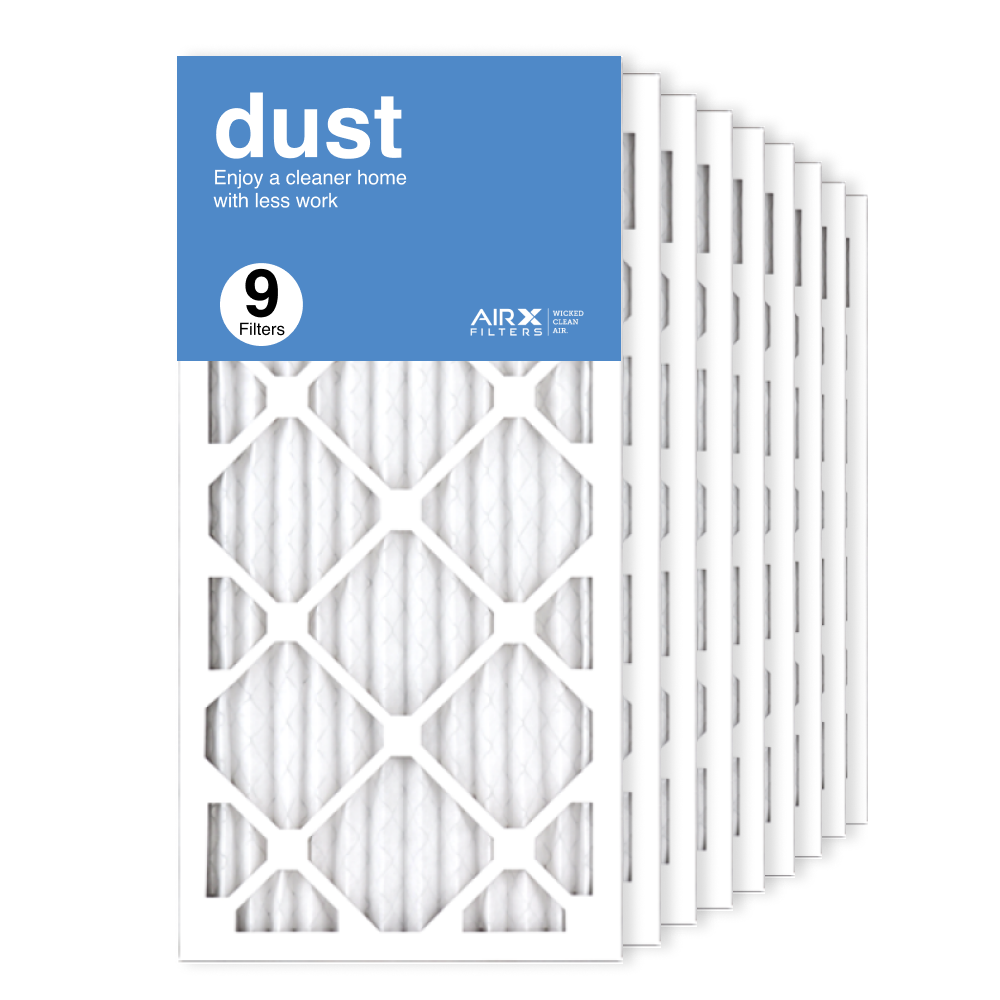 12x24x1 AIRx DUST Air Filter, 9-Pack