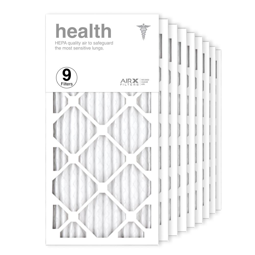 12x25x1 AIRx HEALTH Air Filter, 9-Pack