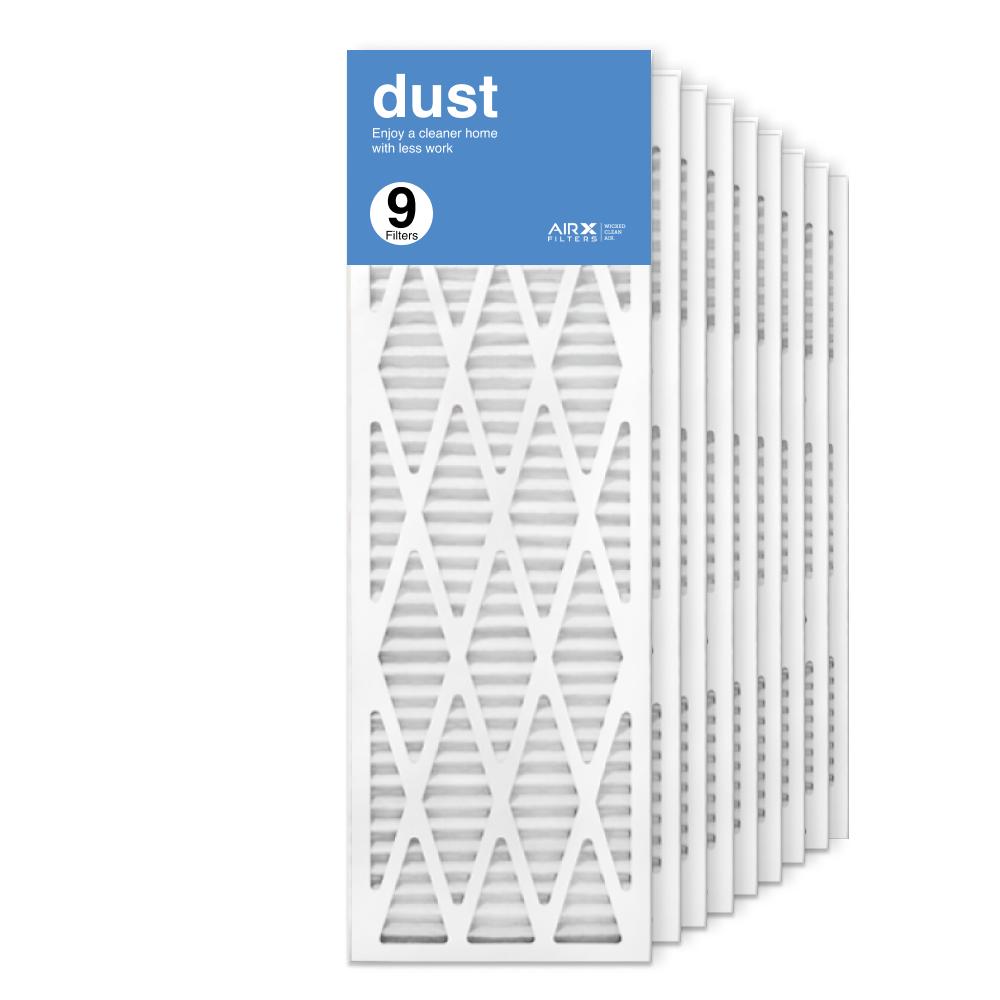 12x36x1 AIRx DUST Air Filter, 9-Pack