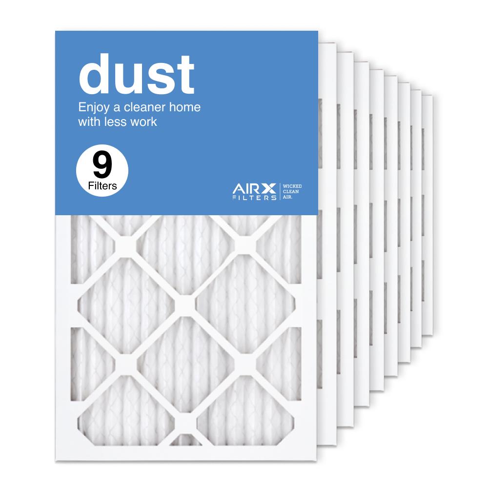 13x21.5x1 AIRx DUST Air Filter, 9-Pack