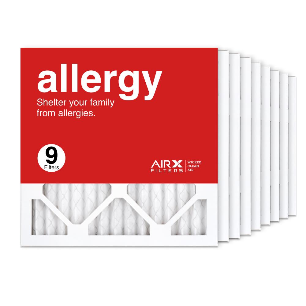 14x14x1 AIRx ALLERGY Air Filter, 9-Pack