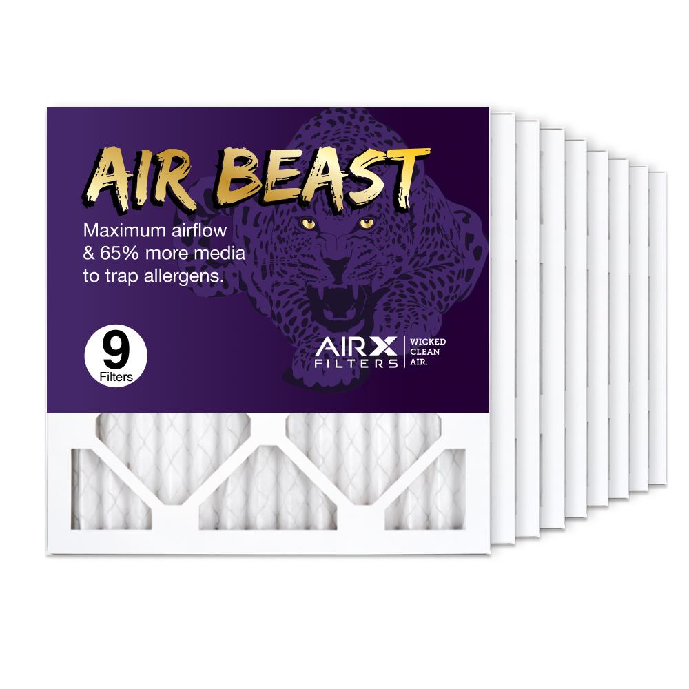 14x14x1 AIRx Air Beast High Flow Air Filter, 9-Pack