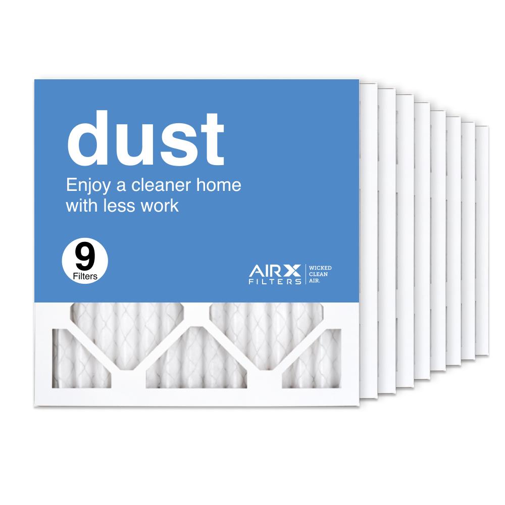 14x14x1 AIRx DUST Air Filter, 9-Pack