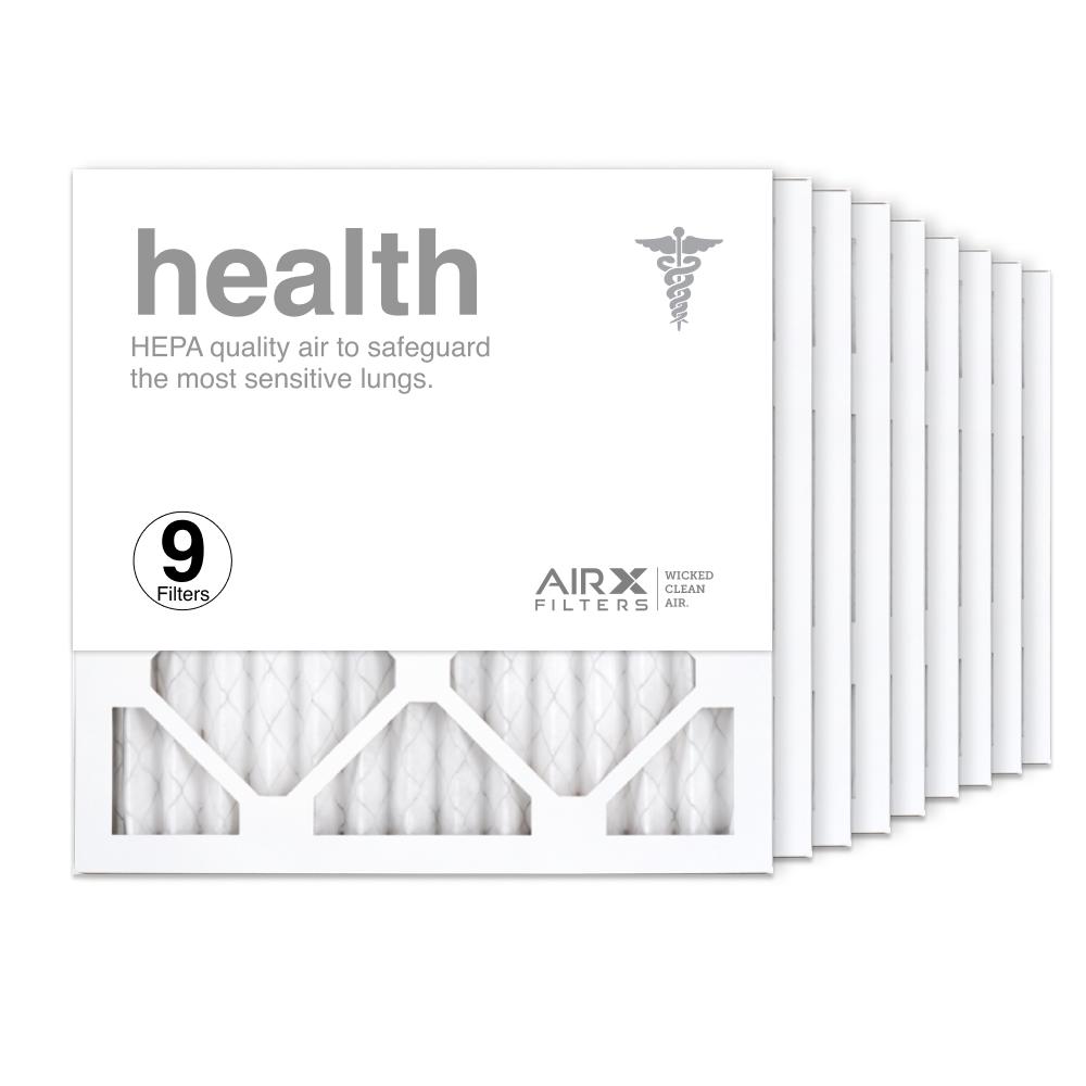 14x14x1 AIRx HEALTH Air Filter, 9-Pack