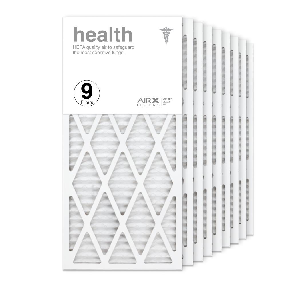 14x30x1 AIRx HEALTH Air Filter, 9-Pack