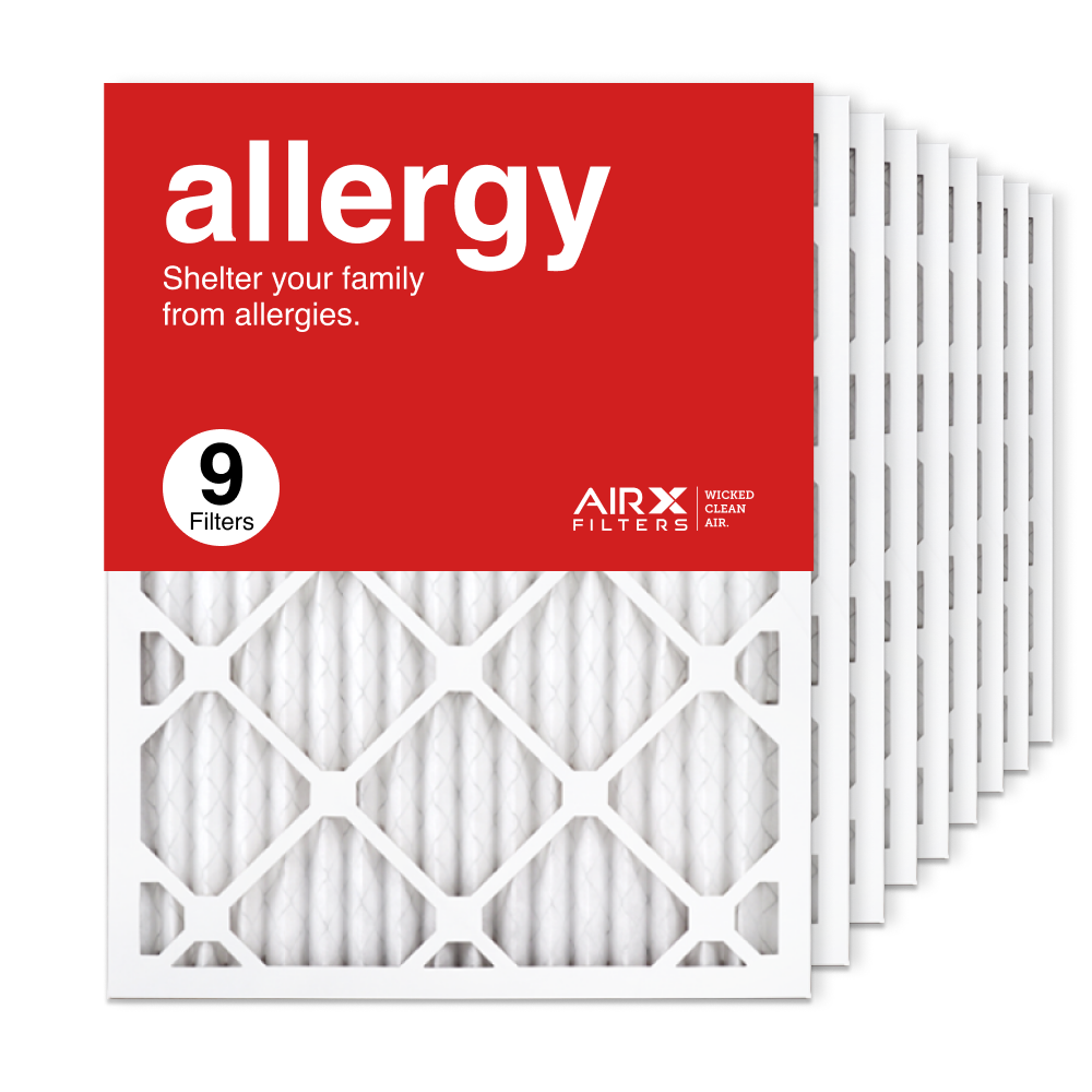 16.375x21.5x1 AIRx ALLERGY Air Filter, 9-Pack