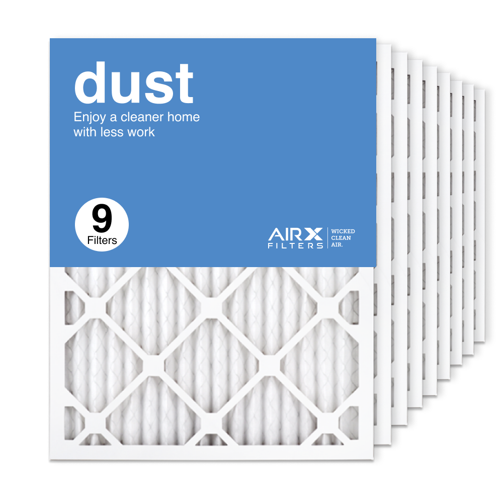 16.375x21.5x1 AIRx DUST Air Filter, 9-Pack