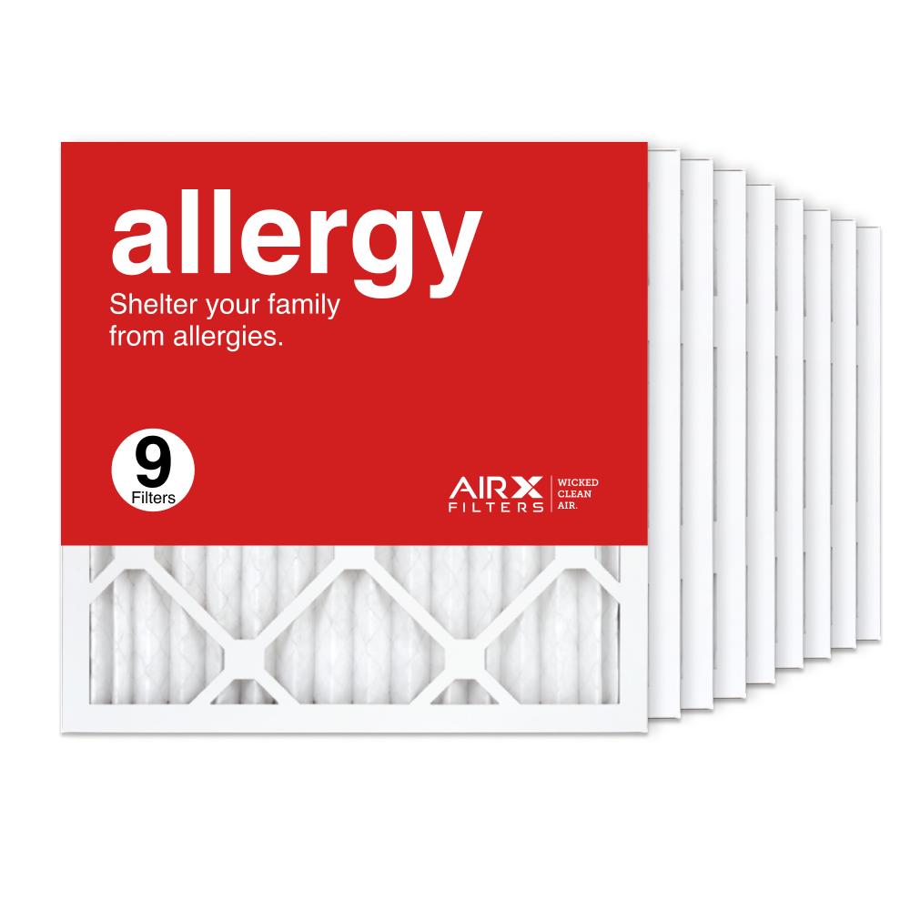 16x16x1 AIRx ALLERGY Air Filter, 9-Pack