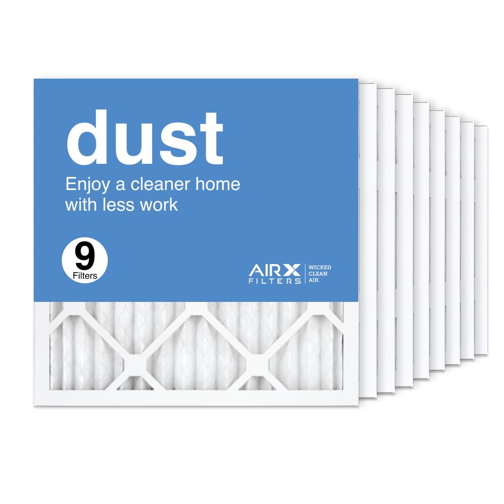 16x16x1 AIRx DUST Air Filter, 9-Pack