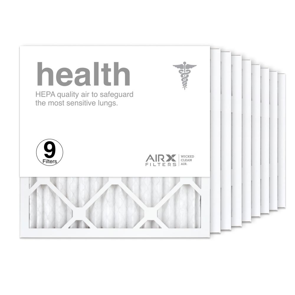 16x16x1 AIRx HEALTH Air Filter, 9-Pack