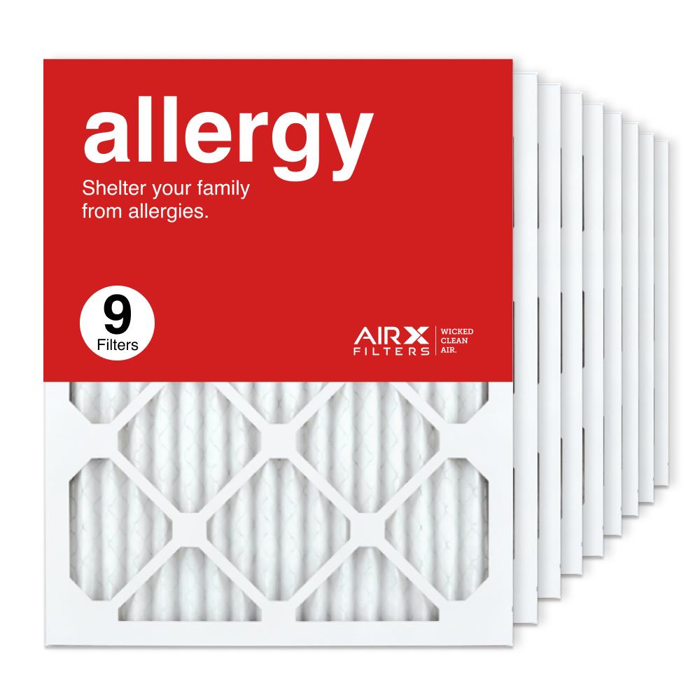 16x20x1 AIRx ALLERGY Air Filter, 9-Pack