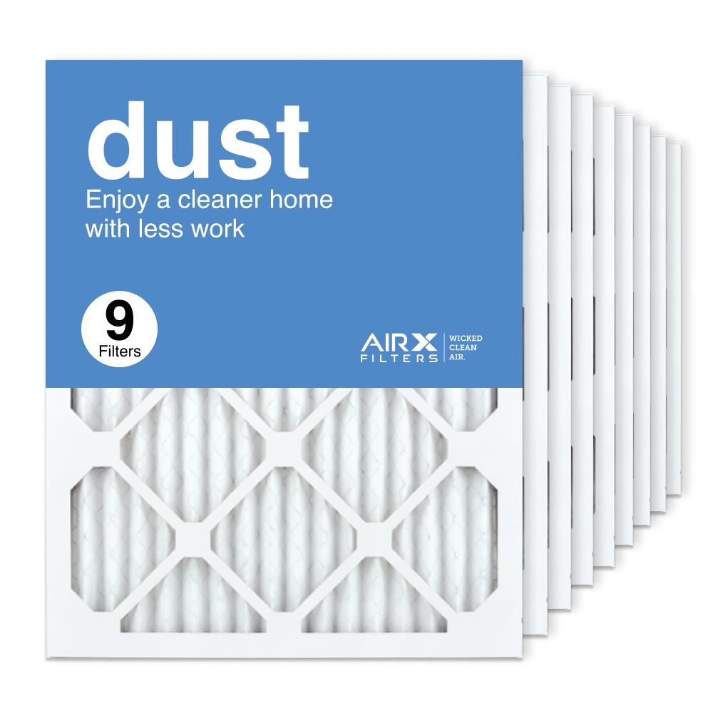 16x20x1 AIRx DUST Air Filter, 9-Pack