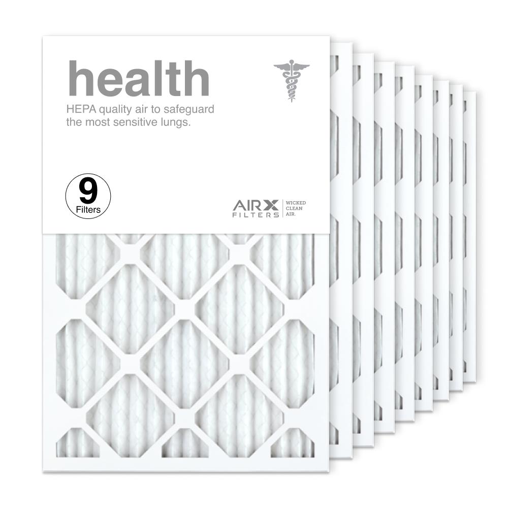 16x24x1 AIRx HEALTH Air Filter, 9-Pack
