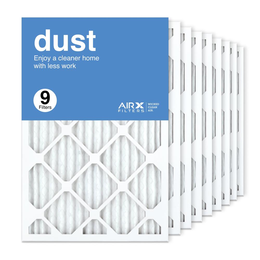 16x25x1 AIRx DUST Air Filter, 9-Pack