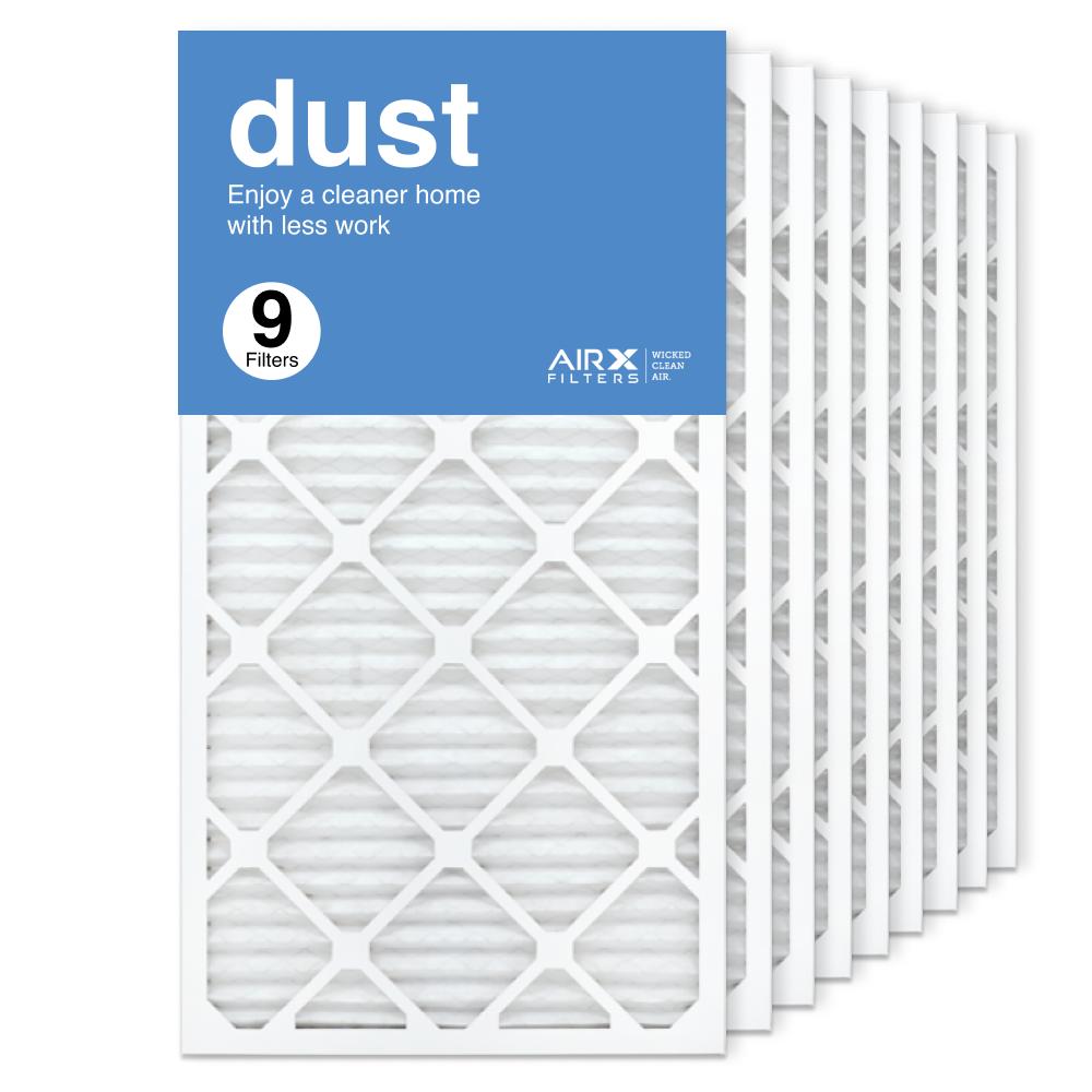 16x30x1 AIRx DUST Air Filter, 9-Pack
