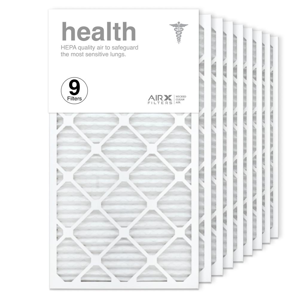 16x30x1 AIRx HEALTH Air Filter, 9-Pack