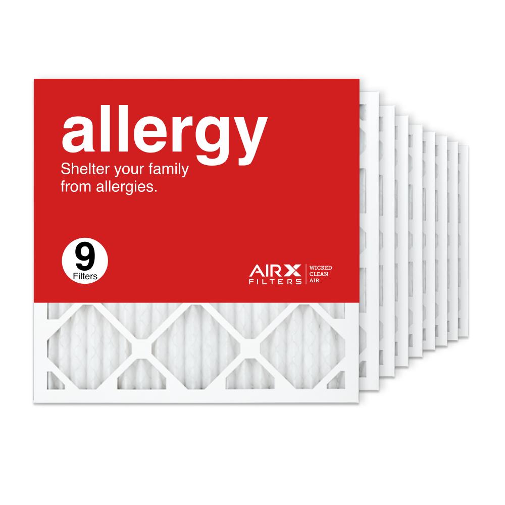18x18x1 AIRx ALLERGY Air Filter, 9-Pack