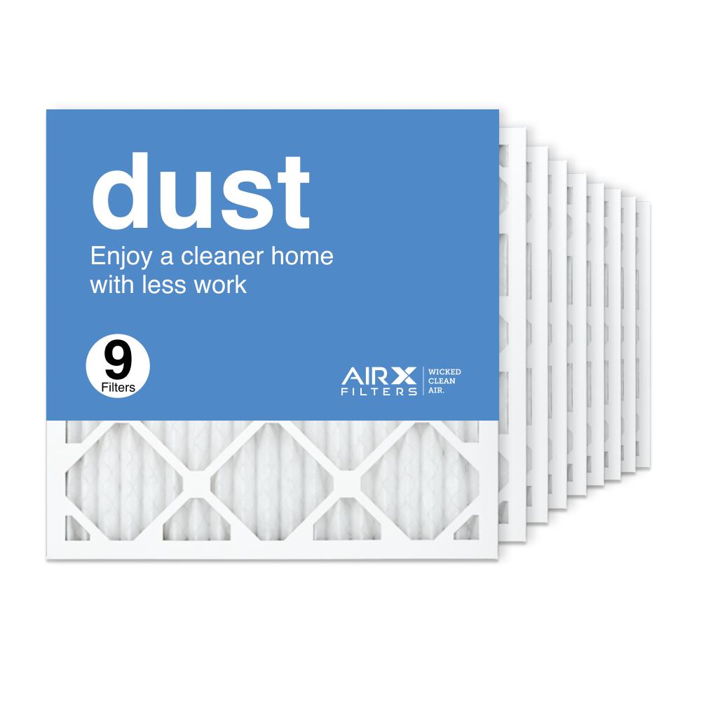 18x18x1 AIRx DUST Air Filter, 9-Pack
