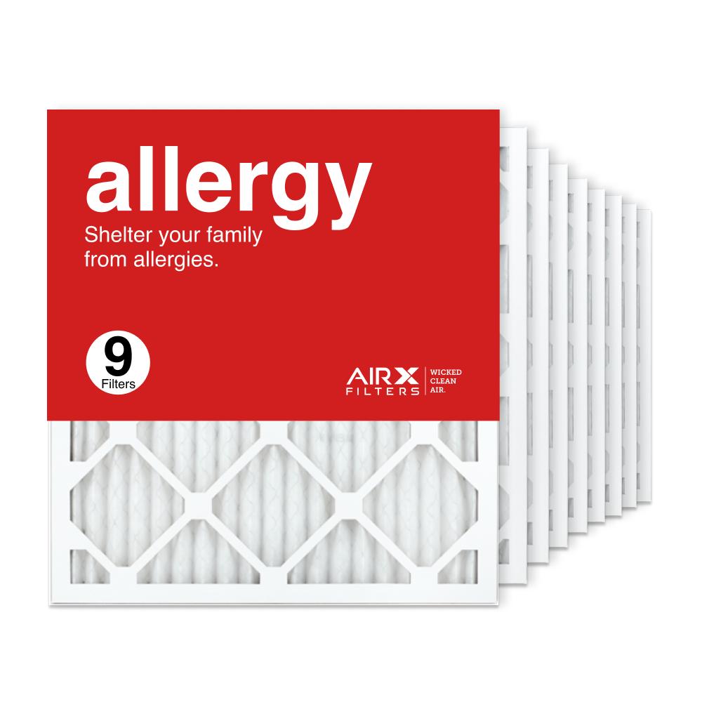18x20x1 AIRx ALLERGY Air Filter, 9-Pack