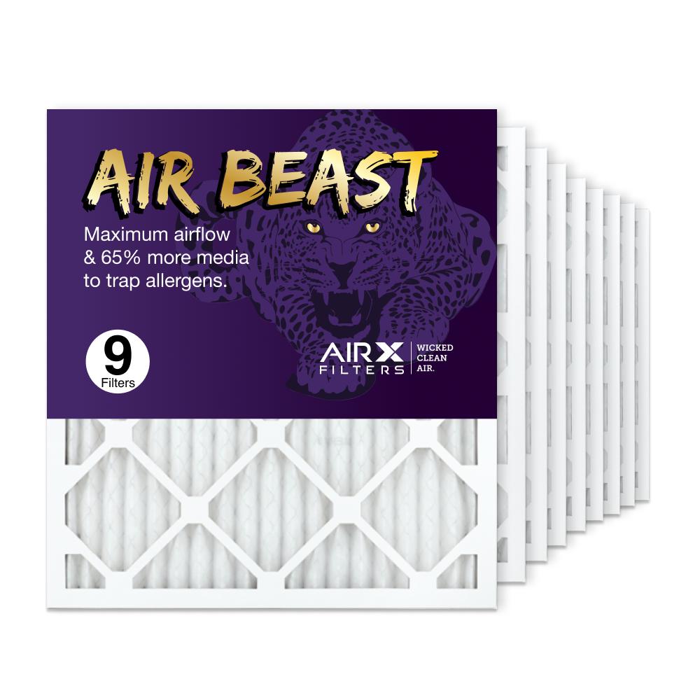 18x20x1 AIRx Air Beast High Flow Air Filter, 9-Pack