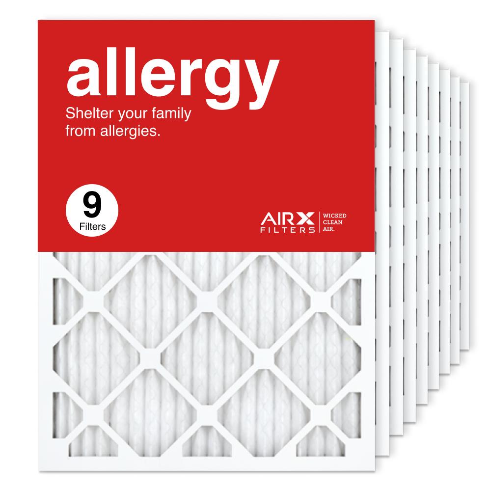 18x24x1 AIRx ALLERGY Air Filter, 9-Pack