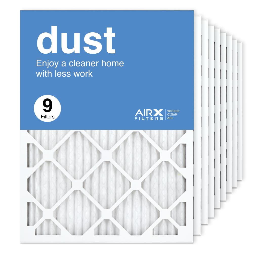 18x24x1 AIRx DUST Air Filter, 9-Pack