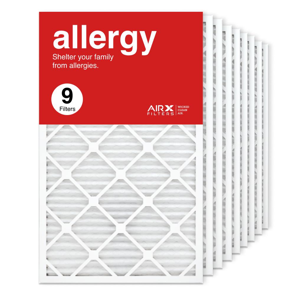 18x30x1 AIRx ALLERGY Air Filter, 9-Pack