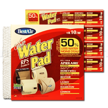White Water Panel for Aprilaire and Honeywell Humidifiers - 6 Pack